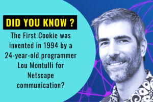 Lou Montulli, founder of Cookies