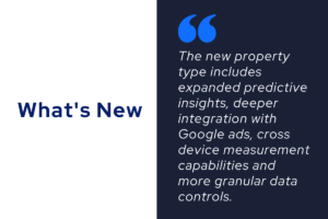 Google Analytics 4.0 features