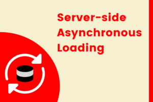 server side asynchronous loading