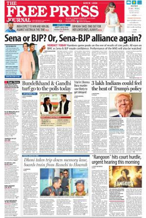 Free Press Journal - Mumbai Edition