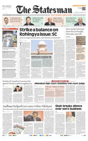 Northern Edition - The Statesman